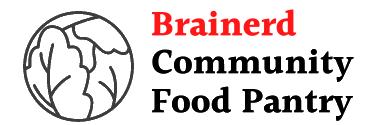 brainerd community food pantry
